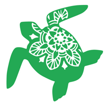 Load image into Gallery viewer, Turtle Mandala Decal
