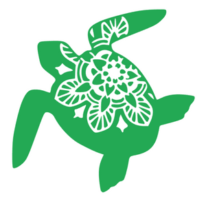 Turtle Mandala Decal