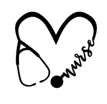 Load image into Gallery viewer, Nurse Heart Decal