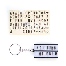 Load image into Gallery viewer, Mini Lightbox Keyring