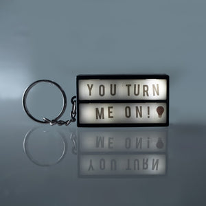 Mini Lightbox Keyring