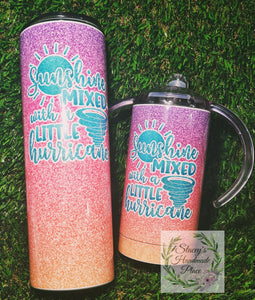 Insulated Tumbler and Sippy Cup Set