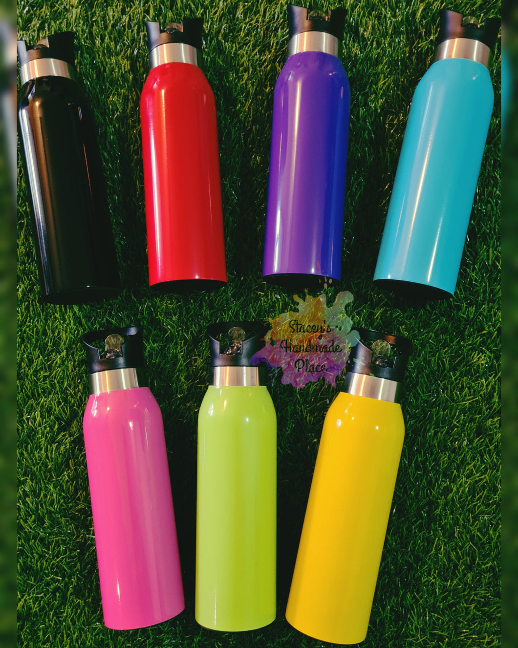Insulated Straw Drink Bottles