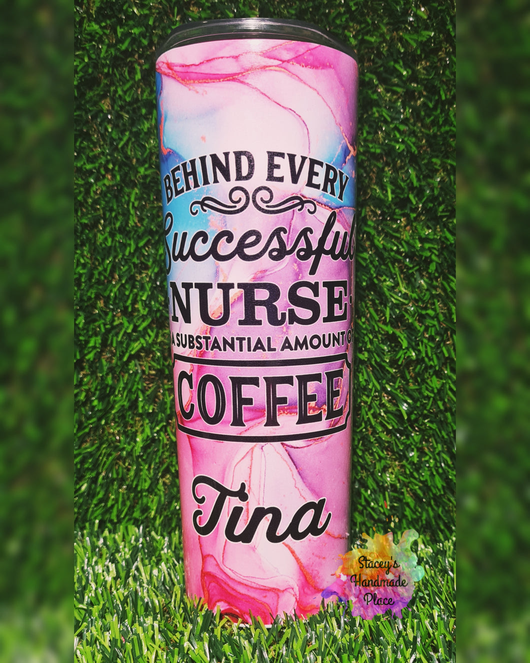 Nurse Substantial Amount of Coffee Insulated Tumbler