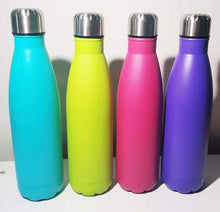 Load image into Gallery viewer, Personalised Double Walled Insulated Drink Bottle