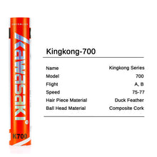 Load image into Gallery viewer, King Kong 700 Hybrid Shuttlecock
