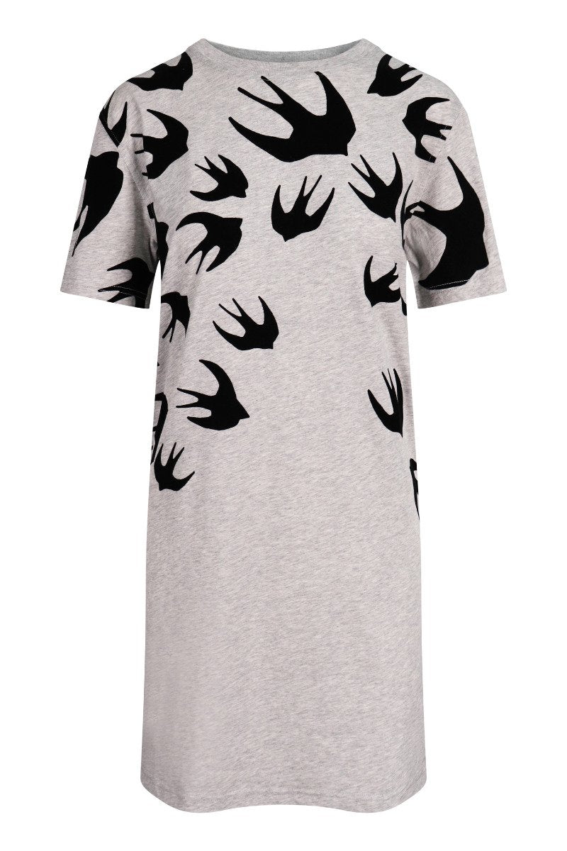 Swallow T-Shirt Dress