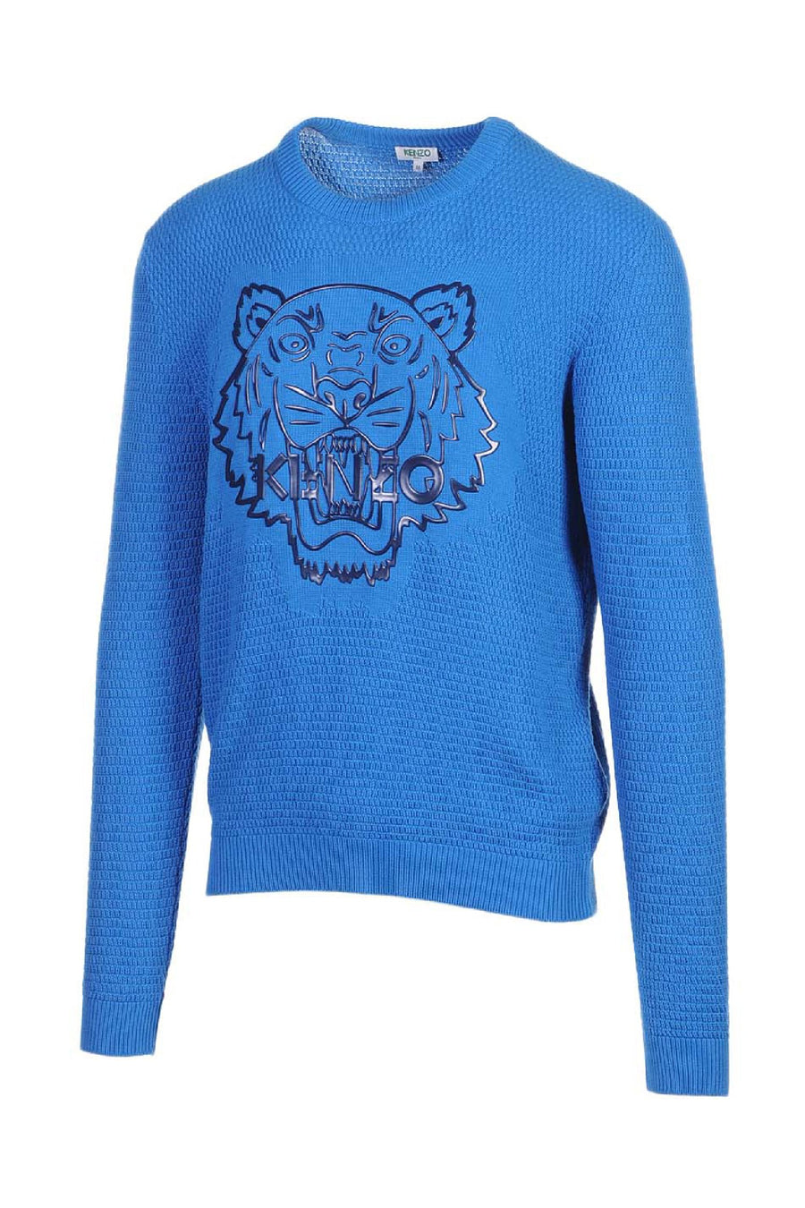 Silicon Tiger Sweater Men Fashion Kenzo Paris Cotton Knit Long Sleeve