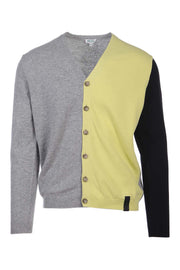 Colorblock CardiganParis Kenzo Designer Basic Casual Fashion Menswear