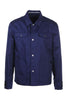 Workwear Jacket Kenzo Paris Cotton Pockets Collar Long Sleeve Dark Attire