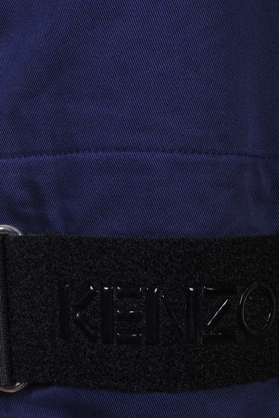 Workwear Jacket Kenzo Paris Cotton Pockets Collar Long Sleeve Dark Attire Men Fashion