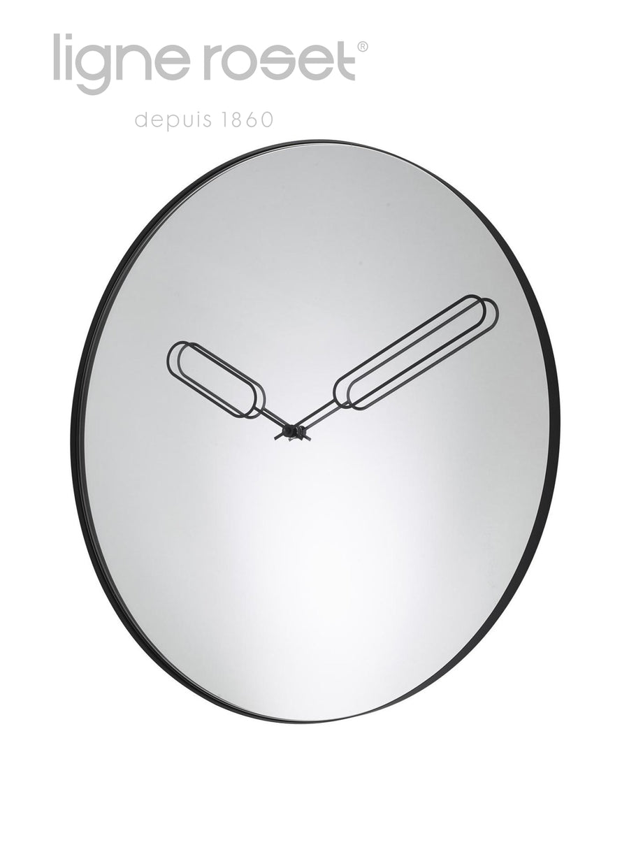 Clock Living Mirror Clock Home Living Designer