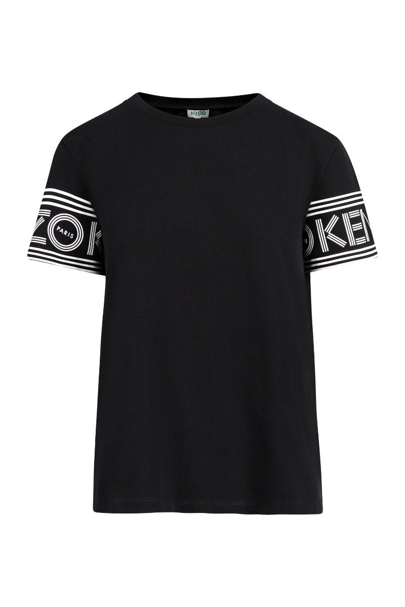 Kenzo Logo T-Shirt Women Fashion Short-Sleeve Cotton Casual Classic Tee