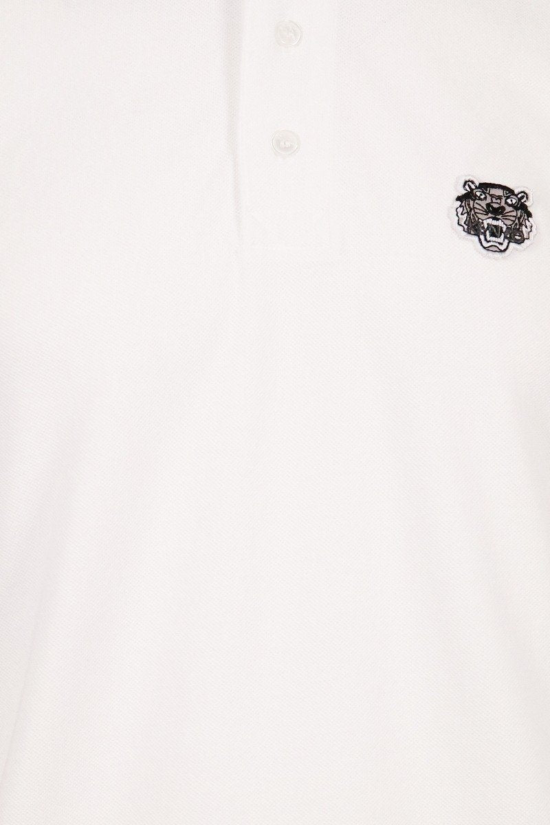 Tiger Polo Shirt Men Fashion Kenzo Paris Cotton Short Sleeve Casual