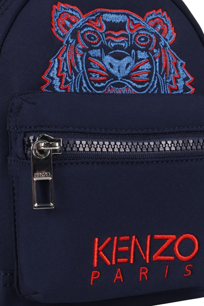 Tiger Mini Backpack Kenzo Paris Neoprene Fashion Accessories Crossbody Bumbag