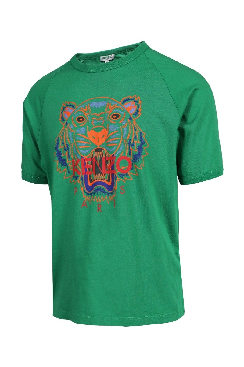 Tiger T-Shirt Jersey Kenzo Paris Cotton Short Sleeve Daily Casual Fashion Men