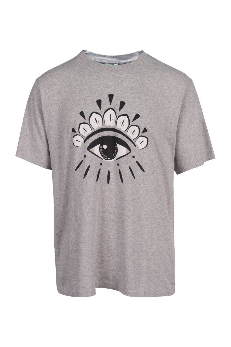 Eye T-shirt Kenzo Paris Short Sleeves Top Unisex Men Women Basic Casual