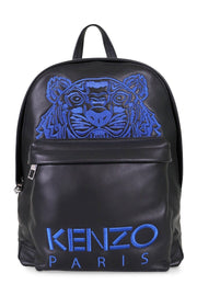 Tiger Bagpack Kenzo Paris Fashion Bag Calf Leather Accessories Travel Outing