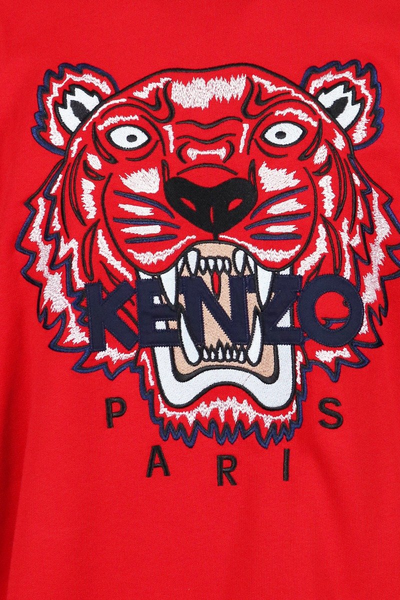 Tiger Sweatshirt Men Fashion Kenzo Paris Cotton Long Sleeve Casual