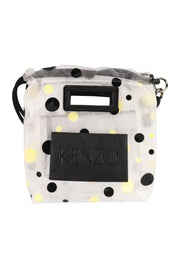 Polka Dots Tote Bag Women Fashion Kenzo Paris Polyester Transparent Trendy Stylish Accessories