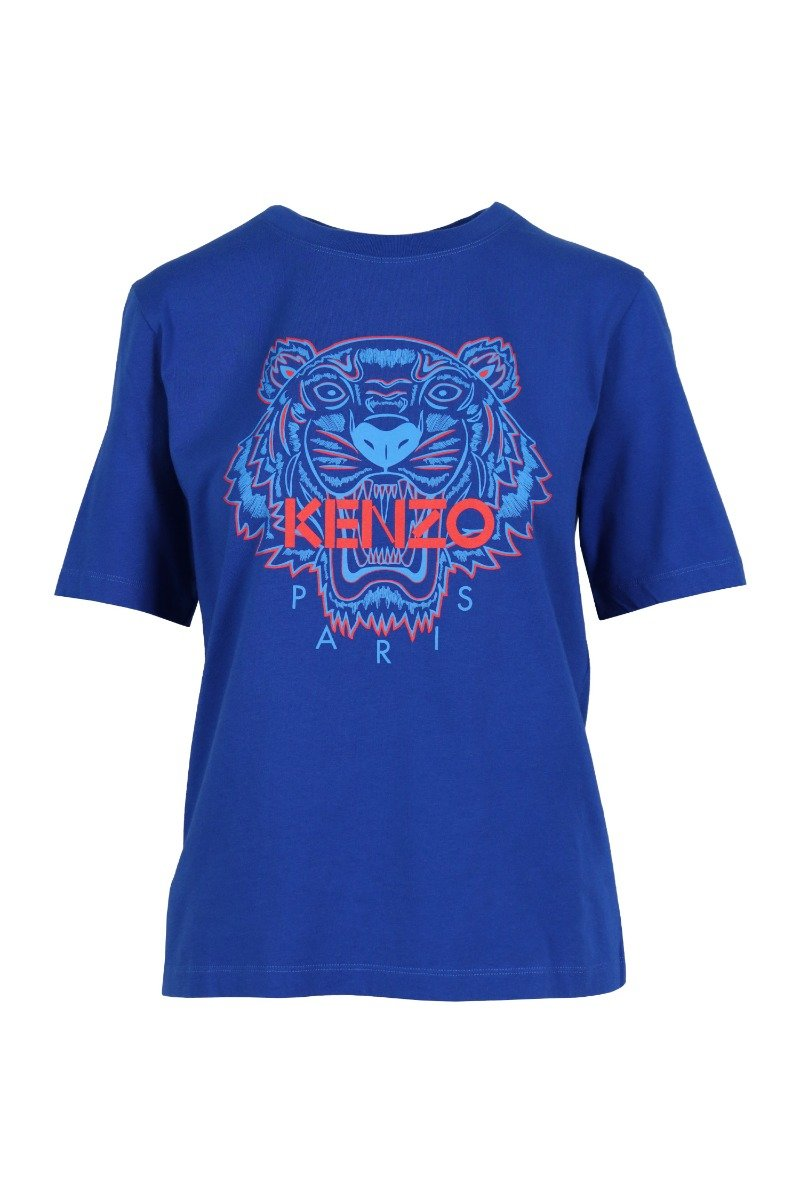 Tiger T-Shirt Kenzo Paris Cotton Short Sleeve Daily Casual Fashion \