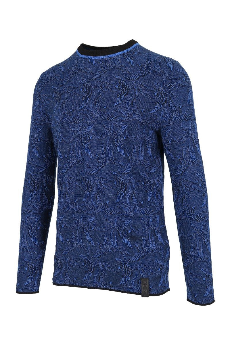 Flying Phoenix Sweater Kenzo Paris Long Sleeves Sweater Menswear