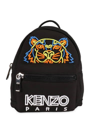 Neon Tiger Mini Backpack Women Fashion Kenzo Paris Neoprene Bag Accessories Outing Travel