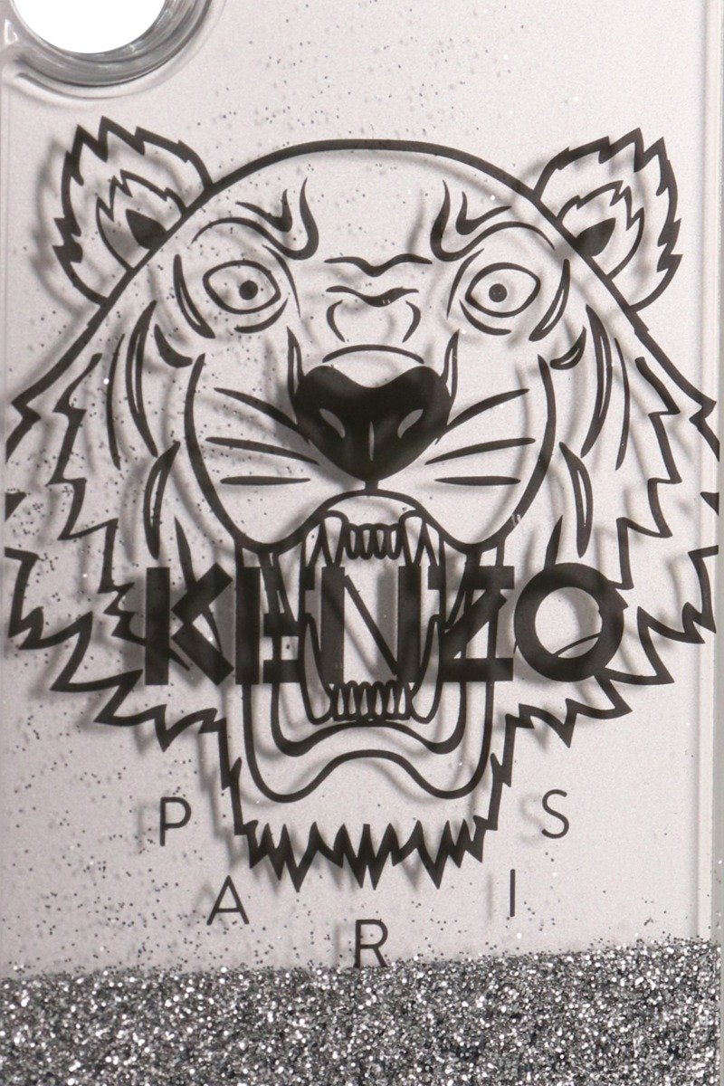 Tiger Iphone X/Xs Phone Case Kenzo Paris Accessories Fashion Lightweight Plastic Glitter Filling
