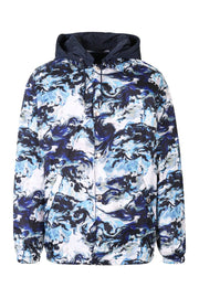 Kenzo World Reversible Parka Men Fashion Kenzo Paris Polyester Long-Sleeve Hipster Trendy Casual