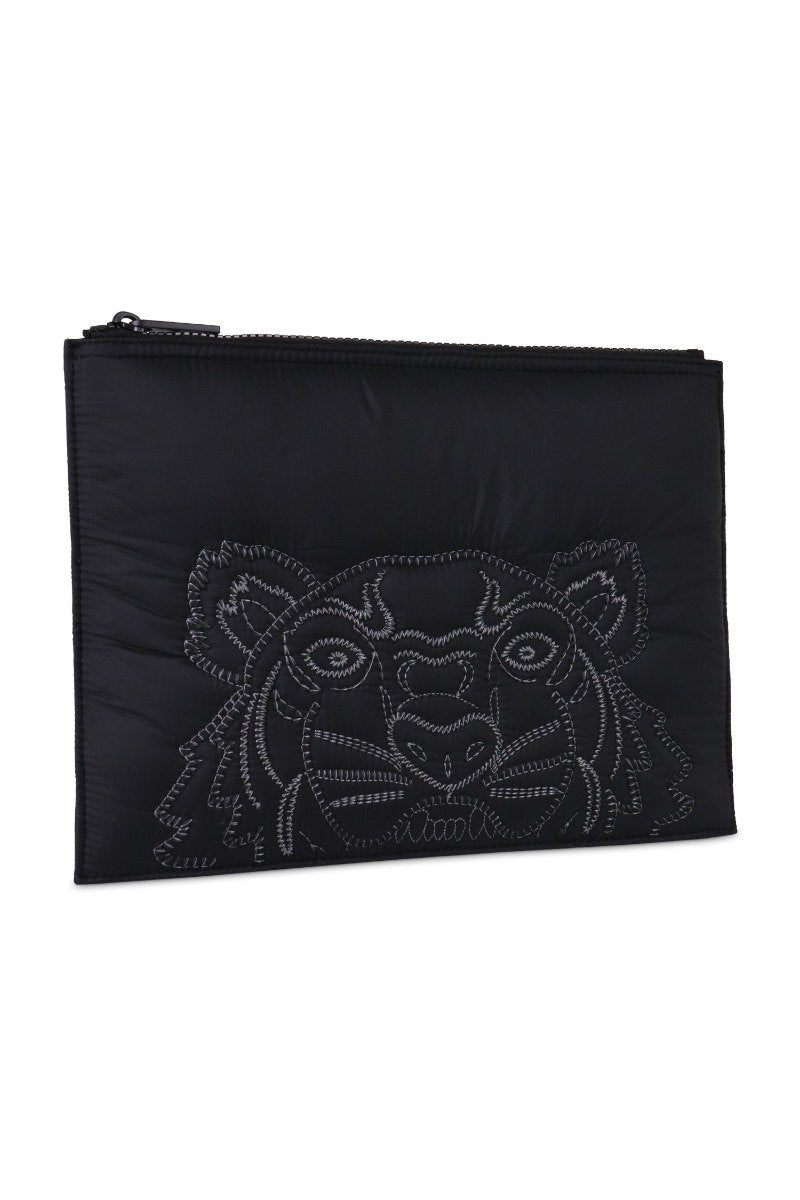 A4 Tiger Clutch Embroidery Designer Fashion Logo Black Deals Promotion Best Price Kenzo Paris Fashion Unisex Men Women Gift