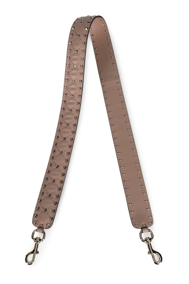 Rockstud Strap Women Fashion Valentino Calfskin Leather Accessories Shoulder