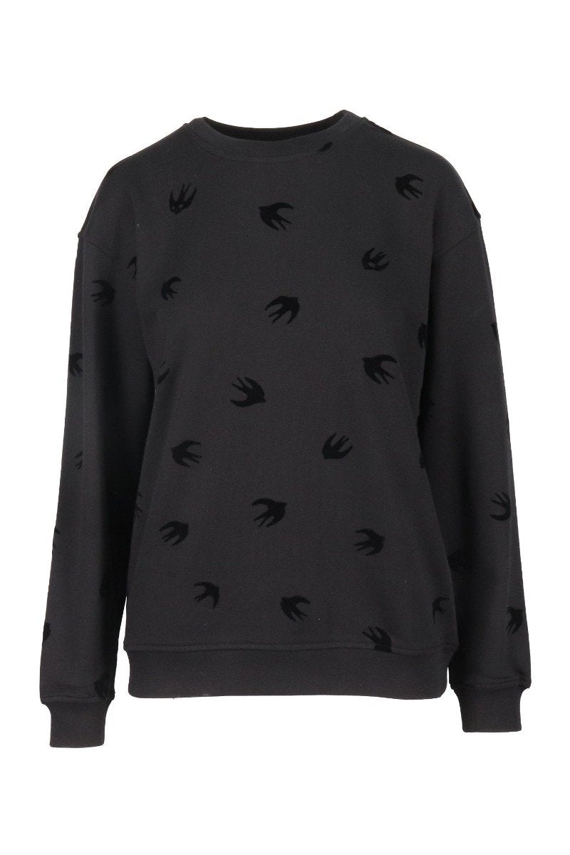 Swallow Sweatshirt Women Fashion MCQ Cotton Long Sleeve Casual Top