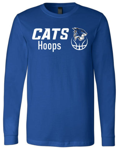 Hilliard Davidson Cats Hoops Long Sleeve