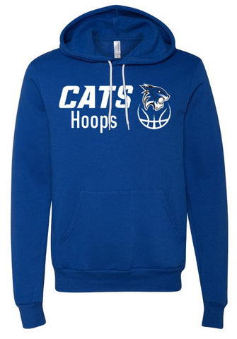 Hilliard Davidson Blue Cats Hoops Hoodie