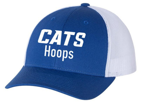 Hilliard Davidson Cats Hoops Trucker Hat