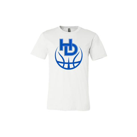 HD Basketball Logo T-Shirt - Unisex
