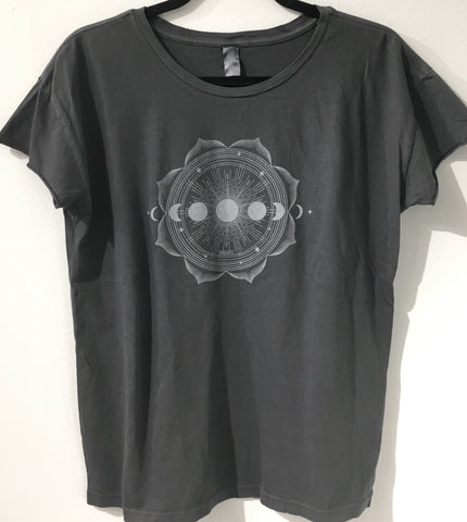 W- Full Moon Mandala Tee