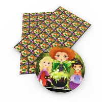 Hocus Pocus Girls Faux Leather Sheet