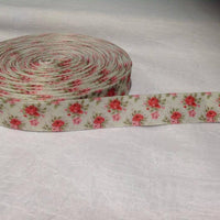 "Flower Vintage Roses 7/8"" Ribbon"