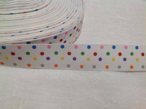 "Spots Little 7/8"" Ribbon"