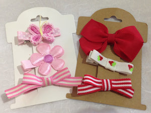 Hair Clip Display Card (20)