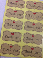 Sticker- Thank You (60)