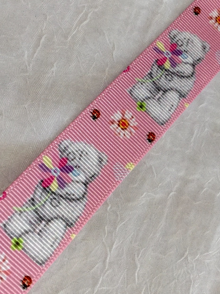 Tatty Teddy Vertical on Pink 1