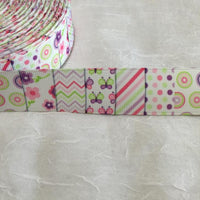 "Pastel Patches 1"" Ribbon"