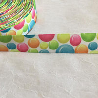 "Bubbles 7/8"" Ribbon"