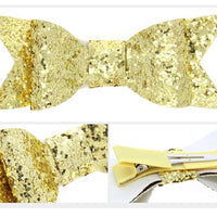 Glitter Single 11cm Bow
