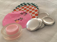 23mm Self Cover Buttons with Flat back (25)