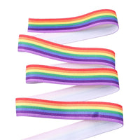 "Rainbow Stripe 5/8"" FOE"