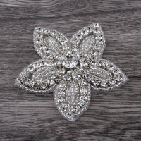 Flower Rhinestone Applique