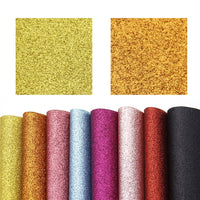 Glitter Mixed Faux Leather Full Sheet Pack of 21